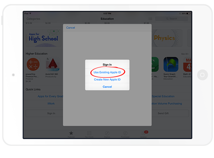 5. Sign in with Apple ID