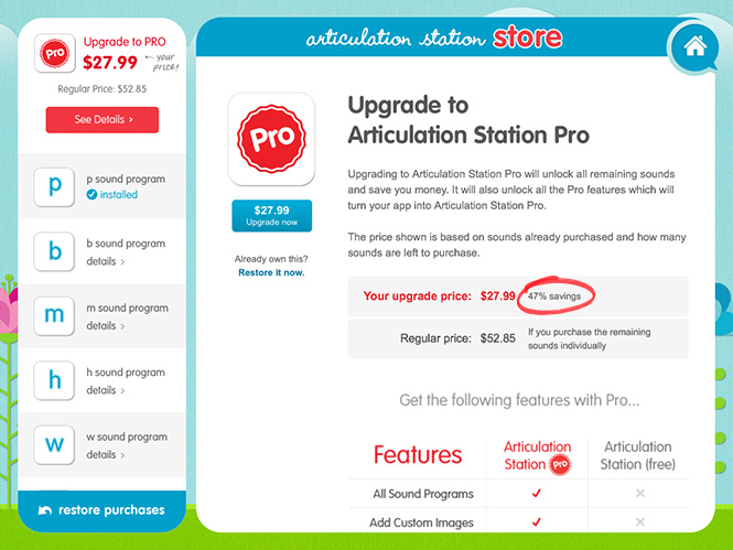 Articulation Station - Upgrade to Pro