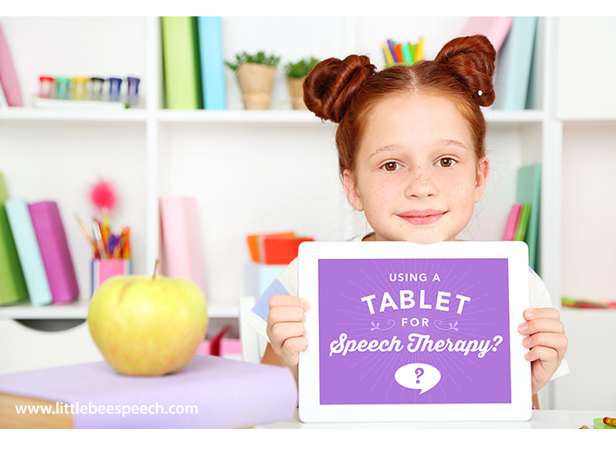 Study - Using Tablets in Speech Therapy