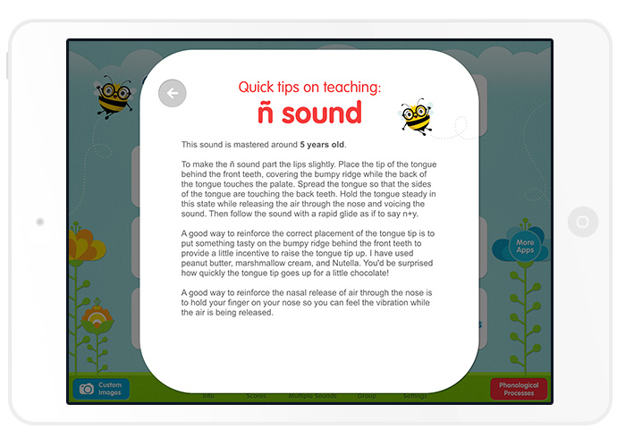 Articulation Station Español App by Little Bee Speech