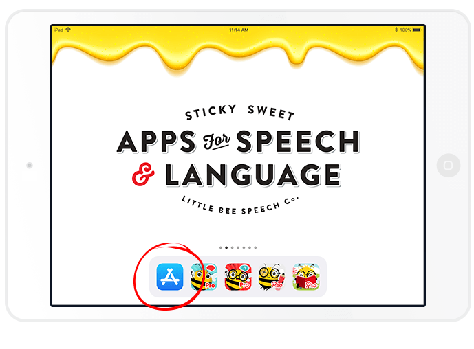 How to Rate & Review an App on the App Store | Little Bee Speech Blog