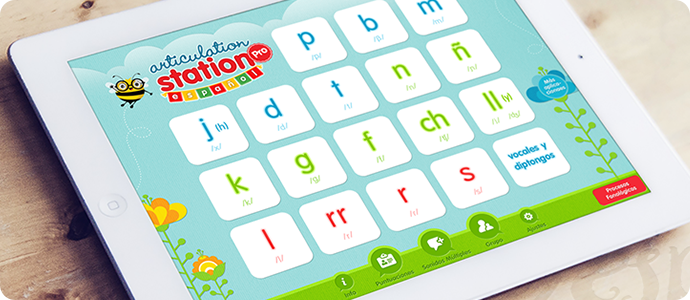 Articulation Station Español - Available on the Apple App Store!