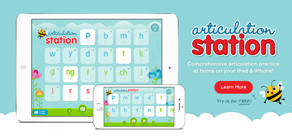 Articulation Station - Comprehensive articulation practice at home on your iPad and iPhone