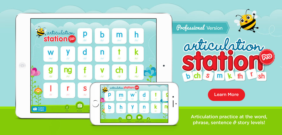 Articulation Station Pro - Articulation practice at the word, phrase, sentence and story levels!