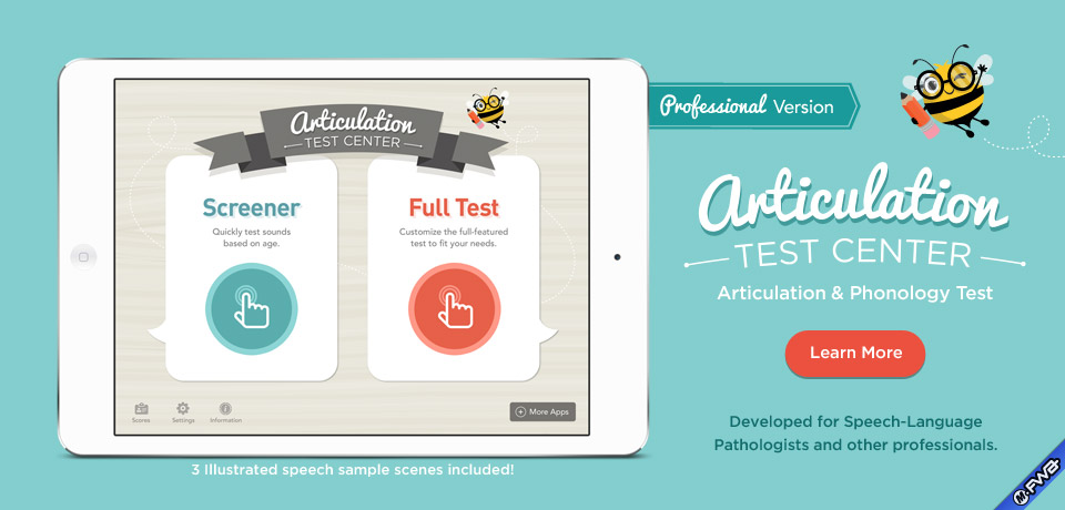 Articulation Test Center - Articulation and Phonology Test
