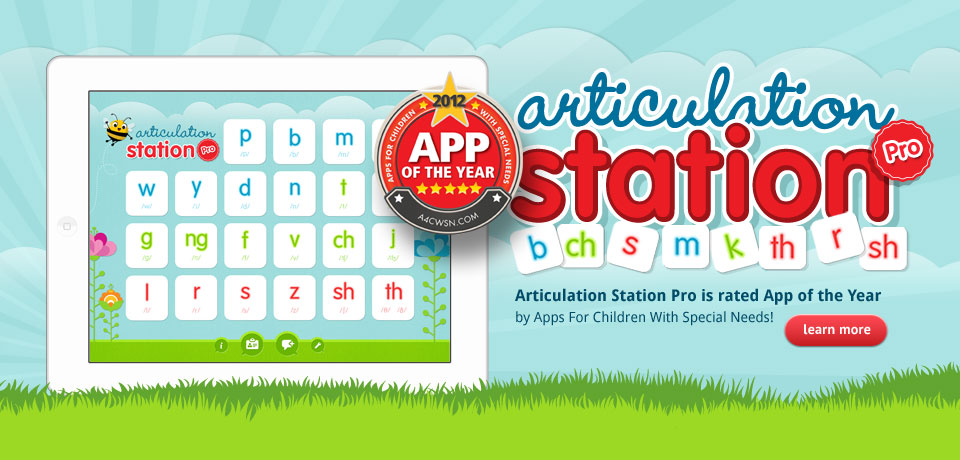 Articulation Station Pro Rated APP of the Year